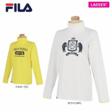 フィラ FILA レディース プリントデザイン 裏起毛 長袖 ハイネックシャツ 790-502 2020年モデル 詳細1