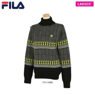 フィラ レディース 長袖 セーター 790-704 (2020) ブラック(BK)
