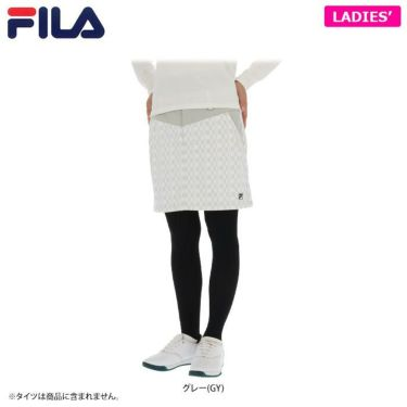 フィラ レディース スカート 790-306 (2020) グレー(GY)