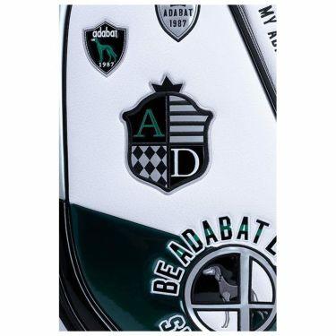 アダバット adabat アダバット キャディバッグ ABC416 WG ホワイト/グリーン 2021年モデル 詳細3