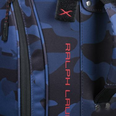 ラルフローレン POLO GOLF NAVY RLX CAMO シリーズ キャディバッグ RLC006 NV ネイビー 2021年モデル 詳細3