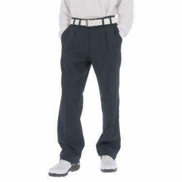 ブリヂストンゴルフ メンズ ミニ千鳥柄 ストレッチ ツータック ロングパンツ SGM92K 2020年モデル [裾上げ対応3] ネイビー(NA)