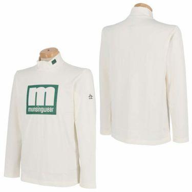 マンシングウェア Munsingwear メンズ エンボスラバープリント 長袖 ハイネックシャツ MEMQJB08 2020年モデル 詳細3