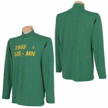 マンシングウェア Munsingwear メンズ ボーダー柄 長袖 ハイネックシャツ MGMQJB22 2020年モデル 詳細3