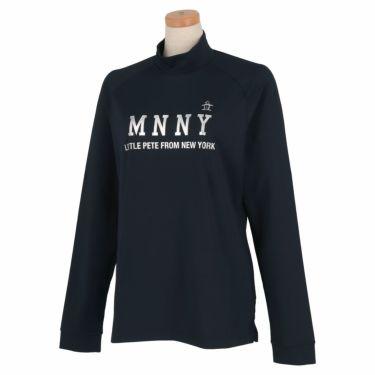 マンシングウェア Munsingwear レディース メタリックプリント 長袖 ハイネックシャツ MGWQJB03 2020年モデル ネイビー(NV00)