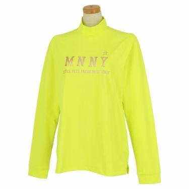 マンシングウェア Munsingwear レディース メタリックプリント 長袖 ハイネックシャツ MGWQJB03 2020年モデル ライム(LM00)