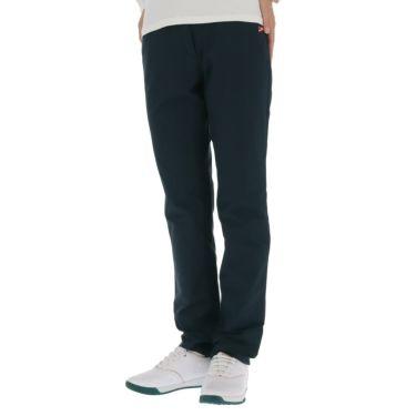 マンシングウェア Munsingwear レディース ストレッチ ロゴ刺繍 ロングパンツ MGWQJD03 2020年モデル [裾上げ対応1] ネイビー(NV00)