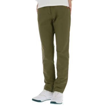 マンシングウェア Munsingwear レディース ストレッチ ロゴ刺繍 ロングパンツ MGWQJD03 2020年モデル [裾上げ対応1] カーキ(KH00)