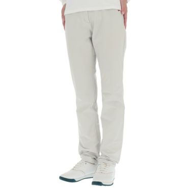 マンシングウェア Munsingwear レディース ストレッチ ロゴ刺繍 ロングパンツ MGWQJD03 2020年モデル [裾上げ対応1] グレー(GY00)