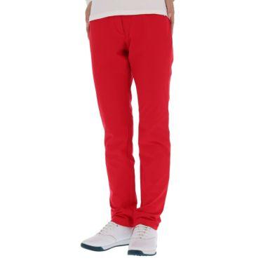 マンシングウェア Munsingwear レディース ストレッチ ロゴ刺繍 ロングパンツ MGWQJD03 2020年モデル [裾上げ対応1] レッド(RD00)