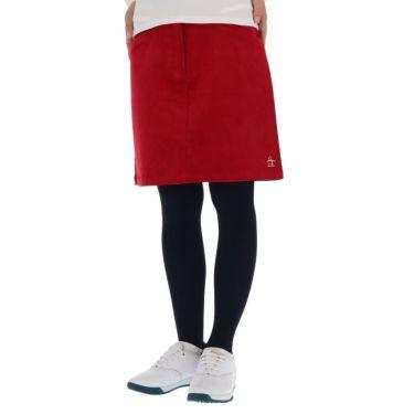 マンシングウェア Munsingwear レディース コーデュロイ ストレッチ スカート MGWQJE04 2020年モデル レッド(RD00)