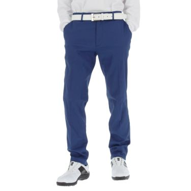 スリクソン SRIXON メンズ ロゴ刺繍 ストレッチ ロングパンツ RGMQJD04 2020年モデル [裾上げ対応1] ブルー(BL00)