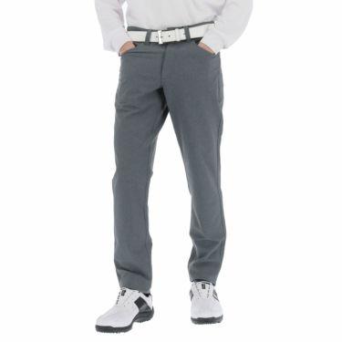 フットジョイ FootJoy メンズ 裏起毛 4WAYストレッチ テーパード ロングパンツ FJ-F20-P01 2020年モデル [裾上げ対応1●] ヘザーチャコール(84227)