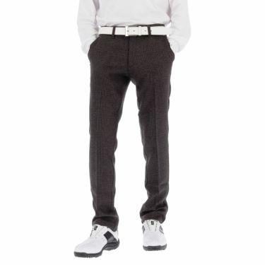 フットジョイ FootJoy メンズ グレンチェック柄 4WAYストレッチ ウォーム テーパード ロングパンツ FJ-F20-P02 2020年モデル [裾上げ対応1] グレー(84230)