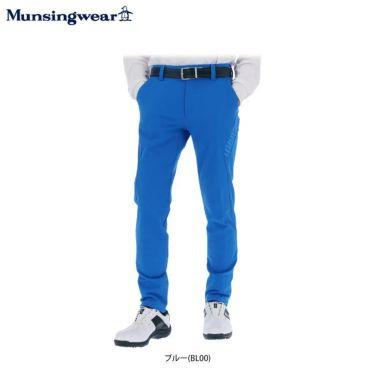 マンシングウェア Munsingwear メンズ ストレッチ 撥水 ロゴプリント ロングパンツ MEMQJD03 2020年モデル [裾上げ対応1] 詳細1