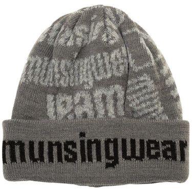 マンシングウェア Munsingwear メンズ ニット キャップ MEBQJC04 GY00 グレー 2020年モデル グレー(GY00)