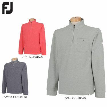 フットジョイ FootJoy メンズ ポケット付き フリース 長袖 ハーフジップ プルオーバー FJ-F20-M01 2020年モデル 詳細1