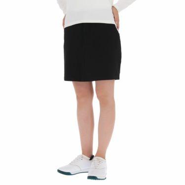 フットジョイ FootJoy レディース ロゴ刺繍 4WAYストレッチ インナーショーツ一体型 スカート FJW-F19-P01 ブラック(83291)