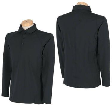デサントゴルフ DESCENTE GOLF メンズ ハイストレッチ メッシュ切替 無縫製 長袖 ポロシャツ DGMMJB17 2020年モデル 詳細3