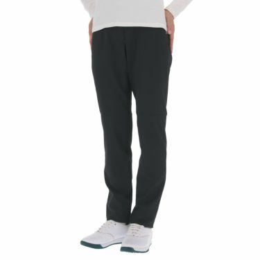 マンシングウェア Munsingwear レディース ストレッチ ロゴプリント ロングパンツ MEWPJD01 2020年モデル [裾上げ対応1] ブラック(BK00)