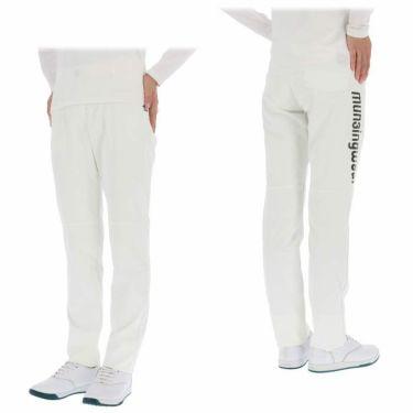 マンシングウェア Munsingwear レディース ストレッチ ロゴプリント ロングパンツ MEWPJD01 2020年モデル [裾上げ対応1] 詳細3