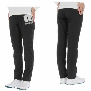 マンシングウェア Munsingwear レディース ストレッチ 防風 ロゴプリント ロングパンツ MEWQJD03 2020年モデル [裾上げ対応1] 詳細3