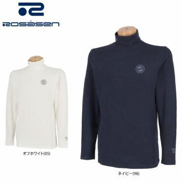 ロサーセン Rosasen メンズ ロゴプリント 起毛素材 長袖 ハイネック インナーシャツ 044-25912 2021年モデル 詳細1
