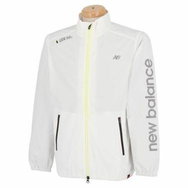 ニューバランスゴルフ メンズ SPORT 撥水 ストレッチ 長袖 フルジップ ブルゾン 012-1220001 2021年モデル ホワイト(030)