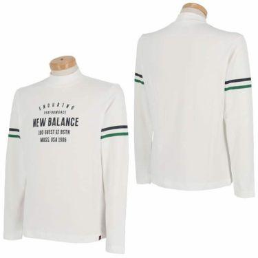 ニューバランスゴルフ メンズ METRO ストレッチ 長袖 モックネックシャツ 012-1267004 2021年モデル 詳細3