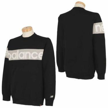 ニューバランスゴルフ メンズ SPORT アシンメトリーデザイン 配色切替 長袖 クルーネック セーター 012-1270001 2021年モデル 詳細3