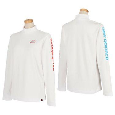 ニューバランスゴルフ レディース SUNNY PAC ストレッチ 長袖 モックネックシャツ 012-1267505 2021年モデル 詳細3