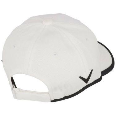 キャロウェイ Callaway レディース ロゴ刺繍 フェイスマスク付き キャップ C21291203 1030 ホワイト 2021年モデル 詳細1