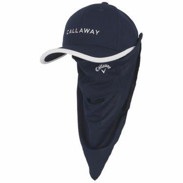 キャロウェイ Callaway レディース ロゴ刺繍 フェイスマスク付き キャップ C21291203 1120 ネイビー 2021年モデル ネイビー(1120)