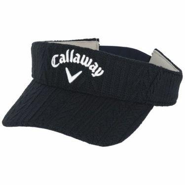 キャロウェイ Callaway レディース ケーブルニット サンバイザー C21291209 1120 ネイビー 2021年モデル ネイビー(1120)