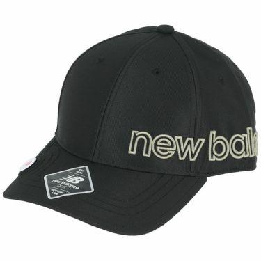 ニューバランスゴルフ SPORT マーカー付き 立体刺繍ロゴ ユニセックス キャップ 012-1287002 010 ブラック 2021年モデル ブラック(010)