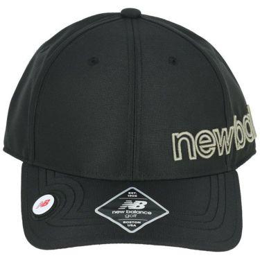ニューバランスゴルフ SPORT マーカー付き 立体刺繍ロゴ ユニセックス キャップ 012-1287002 010 ブラック 2021年モデル 詳細3