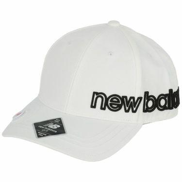 ニューバランスゴルフ SPORT マーカー付き 立体刺繍ロゴ ユニセックス キャップ 012-1287002 030 ホワイト 2021年モデル ホワイト(030)