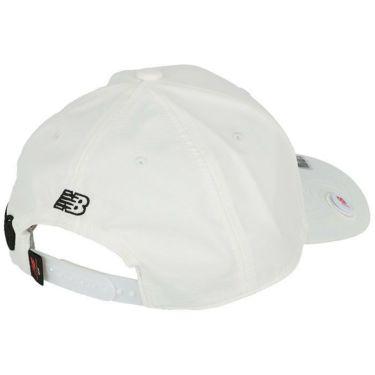 ニューバランスゴルフ SPORT マーカー付き 立体刺繍ロゴ ユニセックス キャップ 012-1287002 030 ホワイト 2021年モデル 詳細2