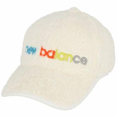 ニューバランスゴルフ SPORT ボアフリース シックスパネル レディース キャップ 012-1287503 030 ホワイト 2021年モデル ホワイト(030)