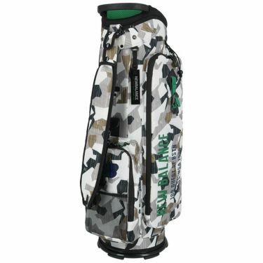 ニューバランスゴルフ METRO マルチパターンプリント ユニセックス キャディバッグ 012-1280002 030 ホワイト ホワイト(030)