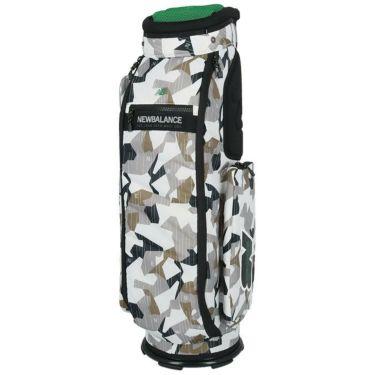 ニューバランスゴルフ METRO マルチパターンプリント ユニセックス キャディバッグ 012-1280002 030 ホワイト 詳細1