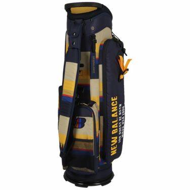 ニューバランスゴルフ METRO マルチパターンプリント ユニセックス キャディバッグ 012-1280002 040 ベージュ ベージュ(040)