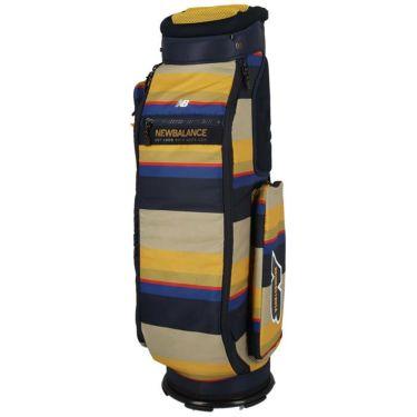 ニューバランスゴルフ METRO マルチパターンプリント ユニセックス キャディバッグ 012-1280002 040 ベージュ 詳細1