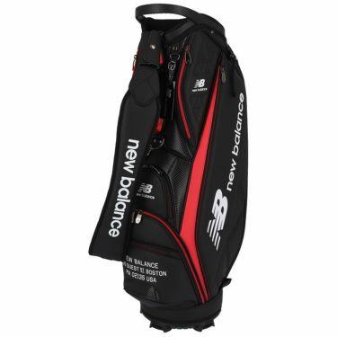 ニューバランスゴルフ SPORT ロゴプリント ユニセックス キャディバッグ 012-1980002 010 ブラック ブラック(010)
