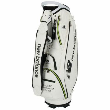 ニューバランスゴルフ SPORT ロゴプリント ユニセックス キャディバッグ 012-1980002 030 ホワイト ホワイト(030)