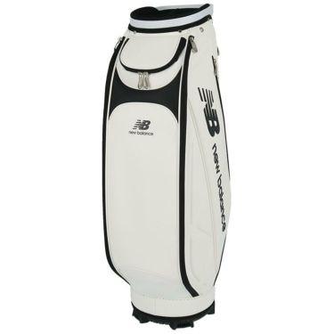 ニューバランスゴルフ SPORT ロゴプリント ユニセックス キャディバッグ 012-1980002 030 ホワイト 詳細1
