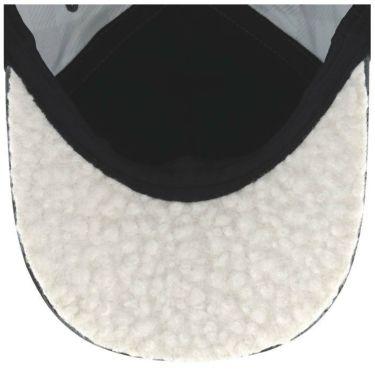 ブラック&ホワイト Black&White ホワイトライン レディース ロゴ刺繍 ギンガムチェック柄 キャップ BLF8471W 20 ブラック 2021年モデル 詳細2
