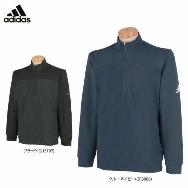 アディダス adidas メンズ 生地切替 長袖 ハーフジップ ジャケット BM518 2021年モデル 詳細1