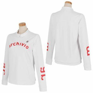 アルチビオ archivio レディース ストレッチ ロゴプリント 長袖 ハイネックシャツ A119807 2021年モデル 詳細3
