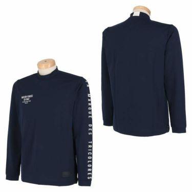 ルコック Le coq sportif メンズ ストレッチ 長袖 モックネックシャツ QGMSJB07 2021年モデル 詳細3